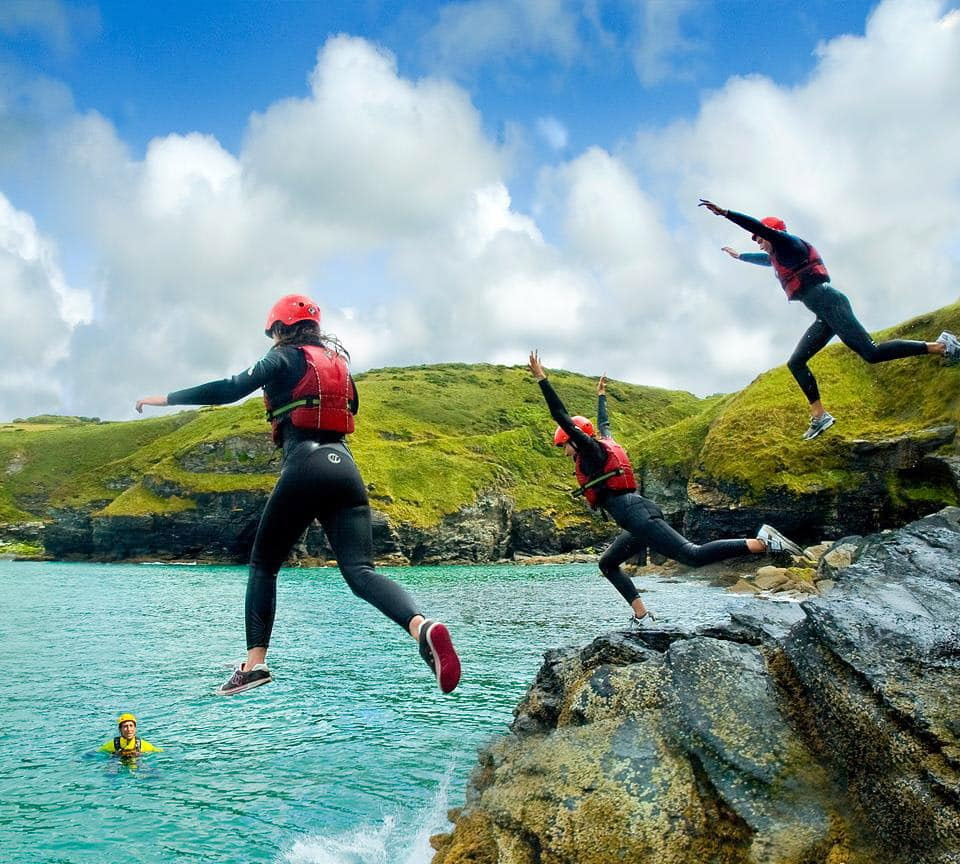 Coasteering In Bude Best Cornwall Coasteer Location