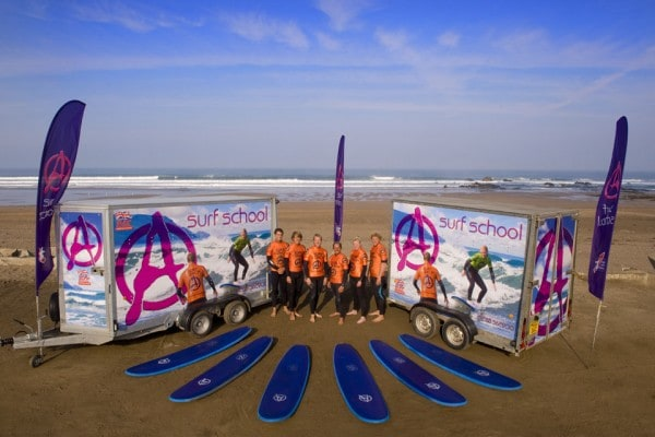 Bude Surf Lessons & Surfing School