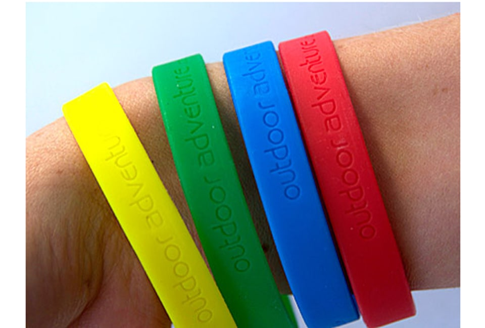 Outdoor Adventure wrist bands