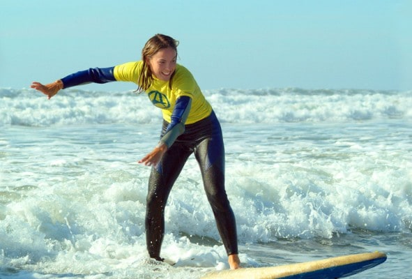 Widemouth Bay Surf Lesson / School
