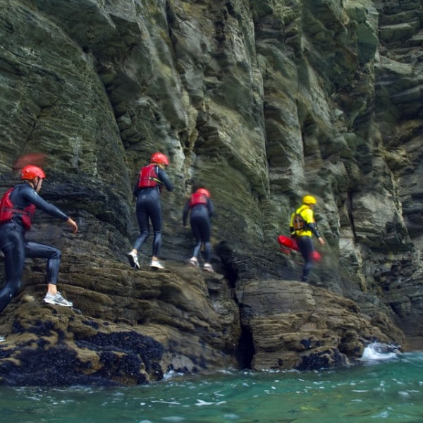 Adventure session in Bude