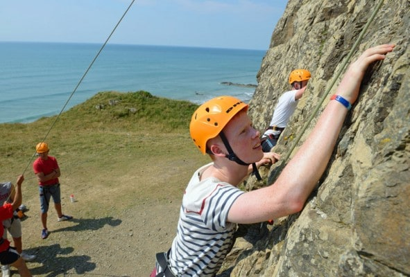 GCSE Physical Education in Climbing