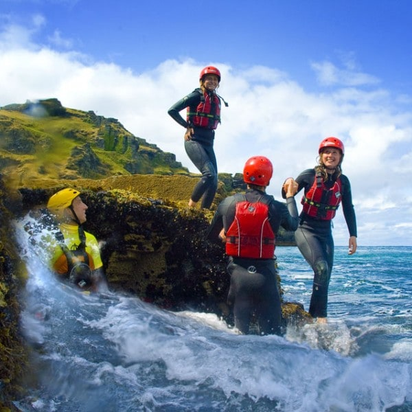 Coasteering for families and groups