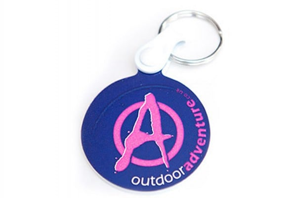 Outdoor Adventure keyring