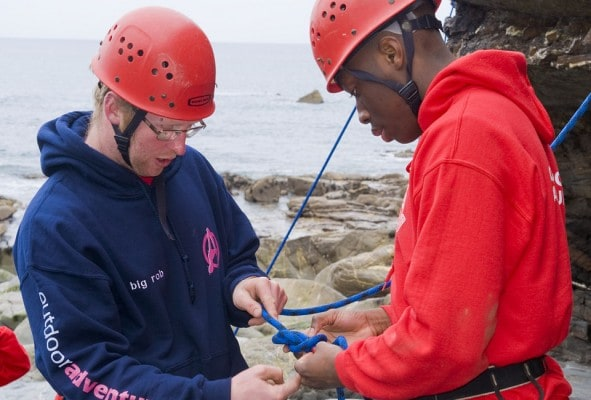 Training and assessment in climbing BTEC OAA