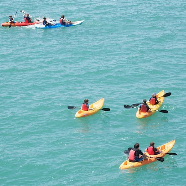 Enjoy your activity days by going canoeing or kayaking