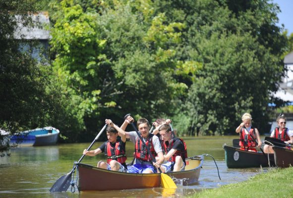 learn outdoors on school residential trips