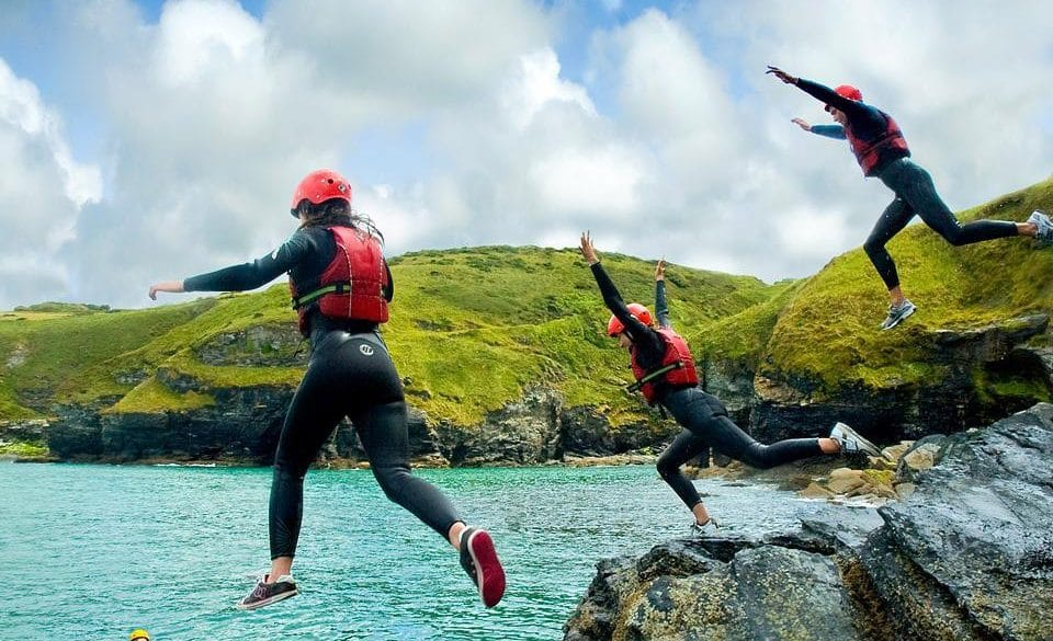 Take the plunge for your business and book a group activity day