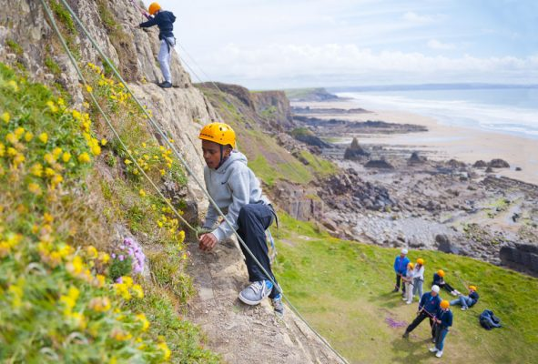 Come and check out activities such as climbing at our outdoor activity centre in Bude.