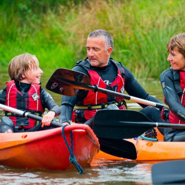 Come and give kayaking a go at our outdoor activity centre!