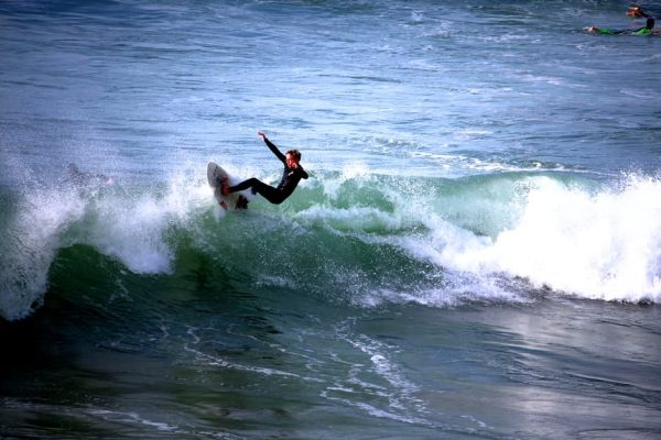 Come and get surf lessons in Bude and pull off tricks like this yourself!