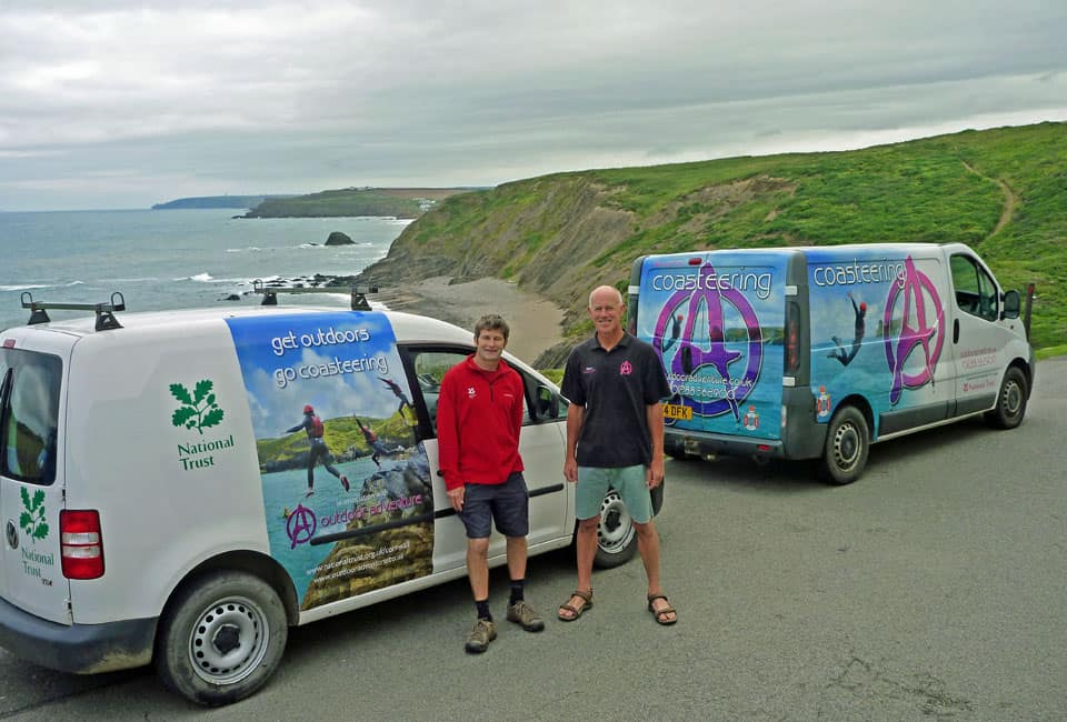Outdoor Adventure becomes the Coasteering Ambassador for the National Trust