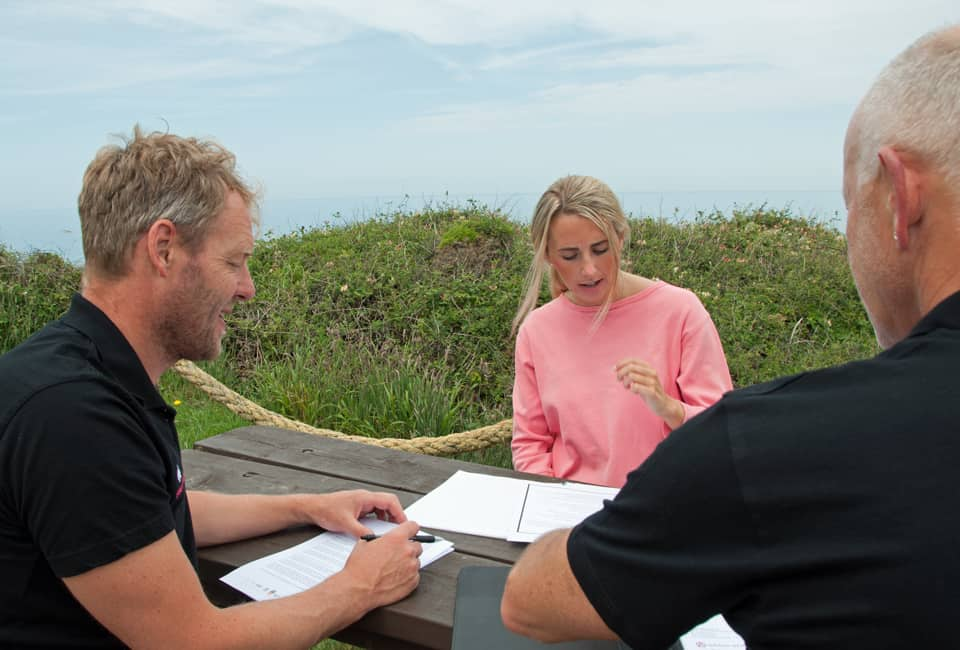 outdoor instructor course interview skills coaching